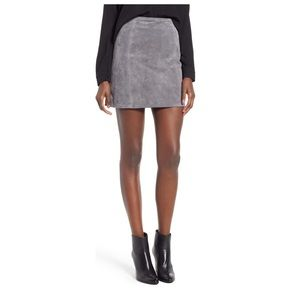 Blank NYC Skirts - Blank NYC suede a line mini skirt size 26
